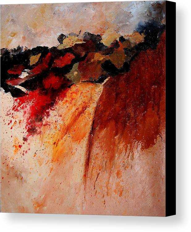 Abstract Canvas Print featuring the painting Abstract 010607 by Pol Ledent
