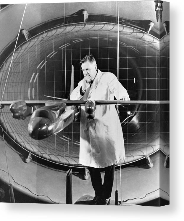 Oleg Antonov, Soviet Aircraft Designer Canvas Print