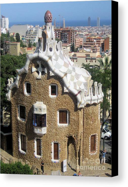 Ginger Bread Canvas Print featuring the photograph Ginger Bread House by Steven Baier