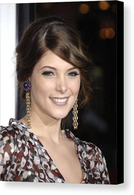 Premiere Of Sex Drive Canvas Print featuring the photograph Ashley Greene At Arrivals For Premiere by Everett