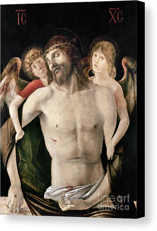 Angel Canvas Print featuring the photograph Bellini: Pieta by Granger