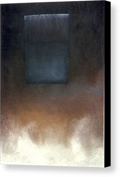 Malavich Canvas Print featuring the pastel Metaphysics-malavich Revisited by Carrie Maurer