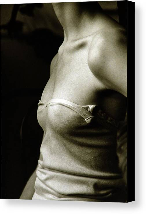 Nude Canvas Print featuring the photograph Torso by John Toxey