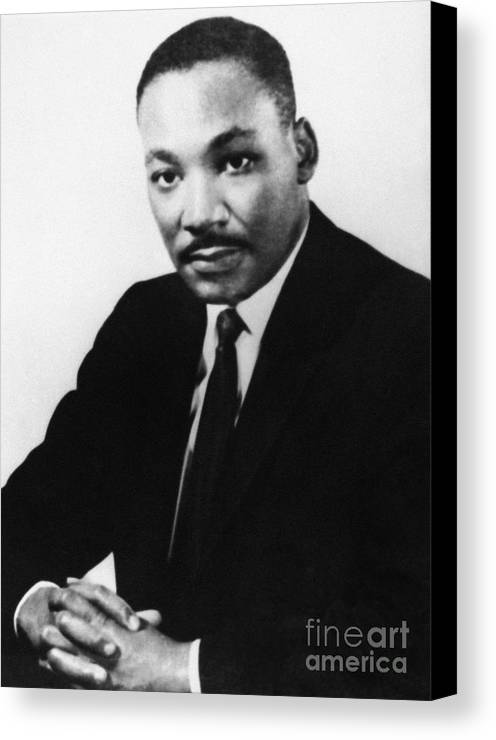 1968 Canvas Print featuring the photograph Martin Luther King, Jr by Granger