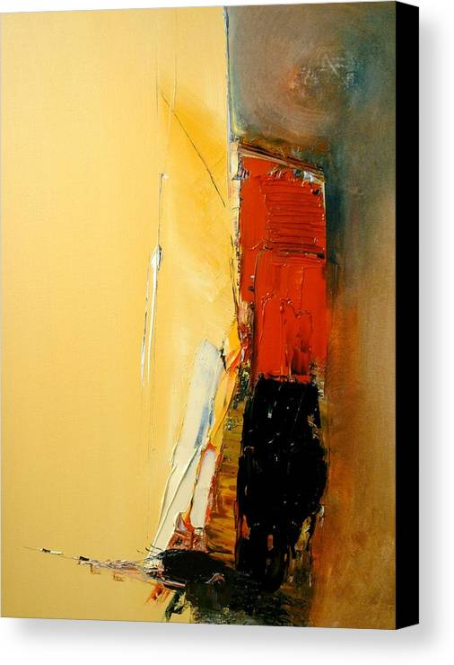 Abstract Canvas Print featuring the painting A Manifestation Of Full Splendor by Stefan Fiedorowicz