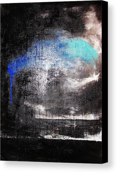 Storm Canvas Print featuring the painting An Unusual Storm by Steffen Anderson