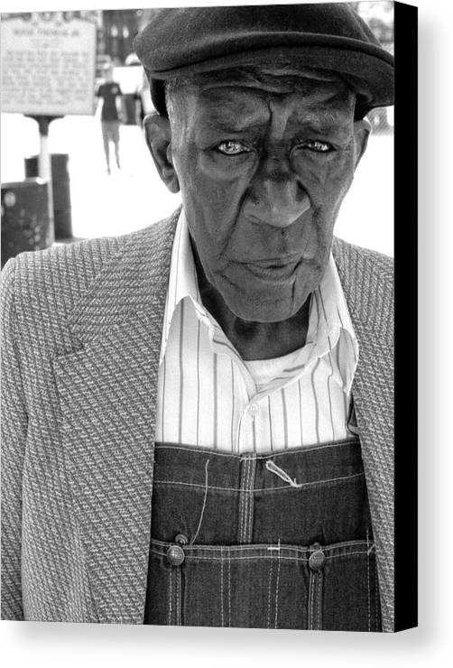 Beale Street Canvas Print featuring the photograph Beale Street by Todd Fox