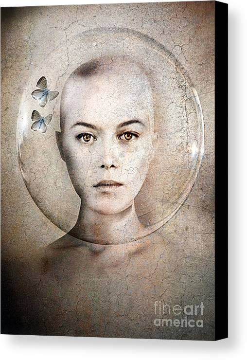 Photodream Canvas Print featuring the photograph Inner World by Jacky Gerritsen