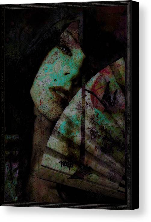 Asian Canvas Print featuring the photograph Jade by Adam Kissel