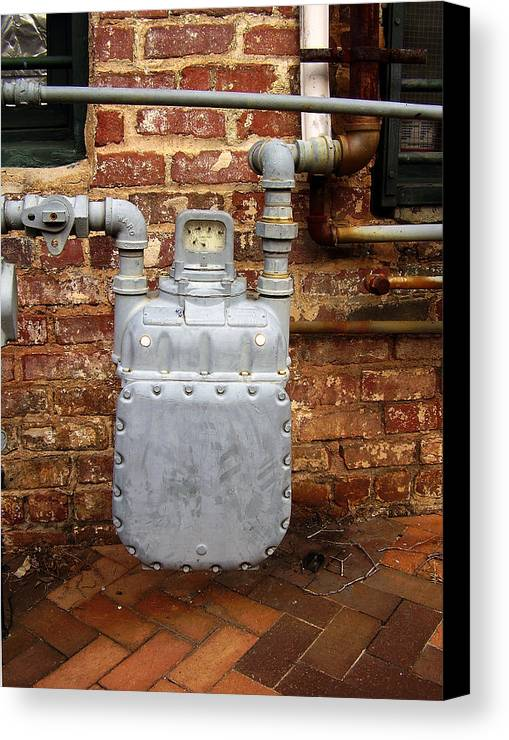 Meter Canvas Print featuring the photograph Meter II In Athens Ga by Flavia Westerwelle