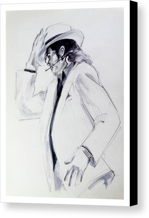 Michael Jackson Smooth Criminal In Tii Canvas Print / Canvas Art by ...
