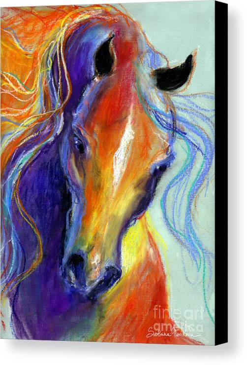 Stallion Horse Painting Canvas Print Canvas Art By