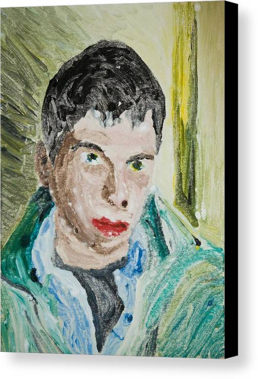 Youth Canvas Print featuring the painting Sweet Youth by John Toxey