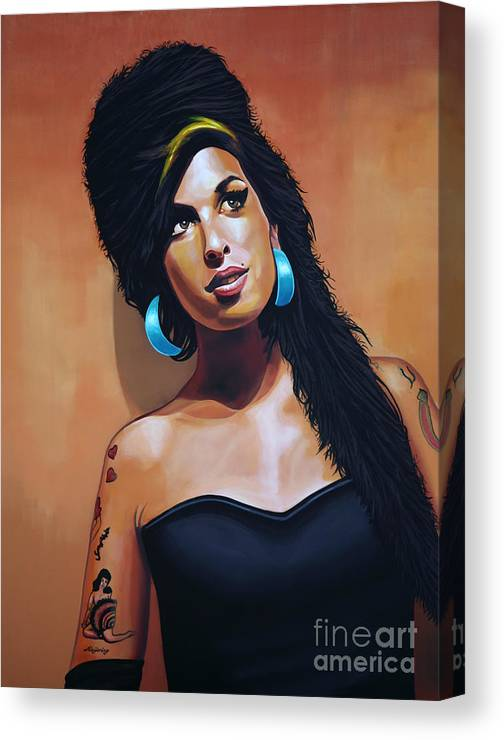 Art Print Poster Canvas Amy Winehouse