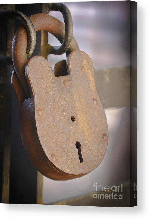 Kevin Felts Canvas Print featuring the photograph Locked by Kevin Felts