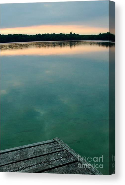 Minnesota Canvas Print featuring the photograph Tranquility by Jennie Stewart