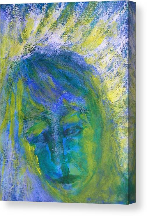 Abstract Canvas Print featuring the painting A Recent Loss by Judith Redman