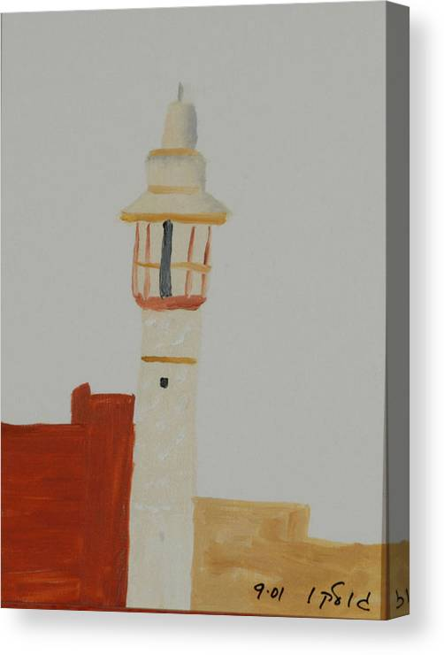 Religious Canvas Print featuring the painting Mosque by Harris Gulko
