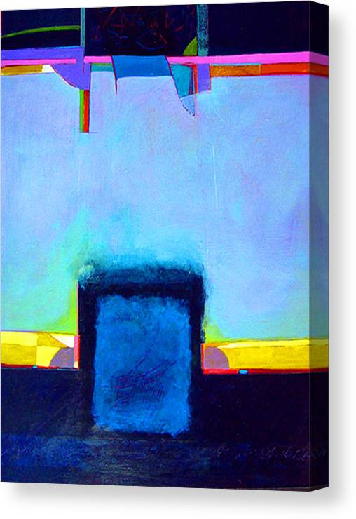 Canvas Print featuring the painting Softened Boundaries by Dale Witherow