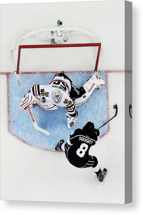 Event Canvas Print featuring the photograph 2015 Honda Nhl All-star Skills by Kirk Irwin