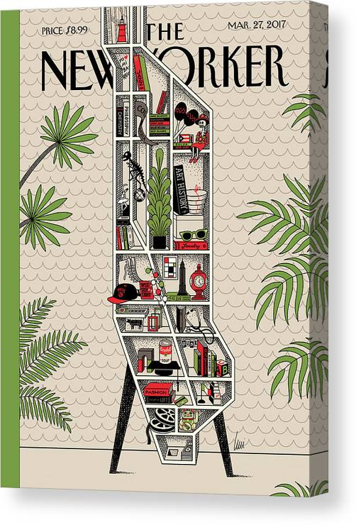 Shelf Life Canvas Print featuring the painting Shelf Life by Luci Gutierrez