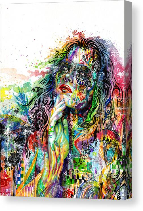 Dream Canvas Print featuring the painting Enigma by Callie Fink