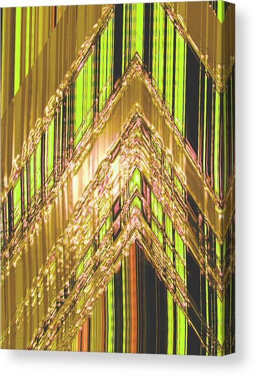 Moveonart! Digital Gallery Canvas Print featuring the digital art MoveOnArt Amplify Your Creativity Three by Jacob Kanduch