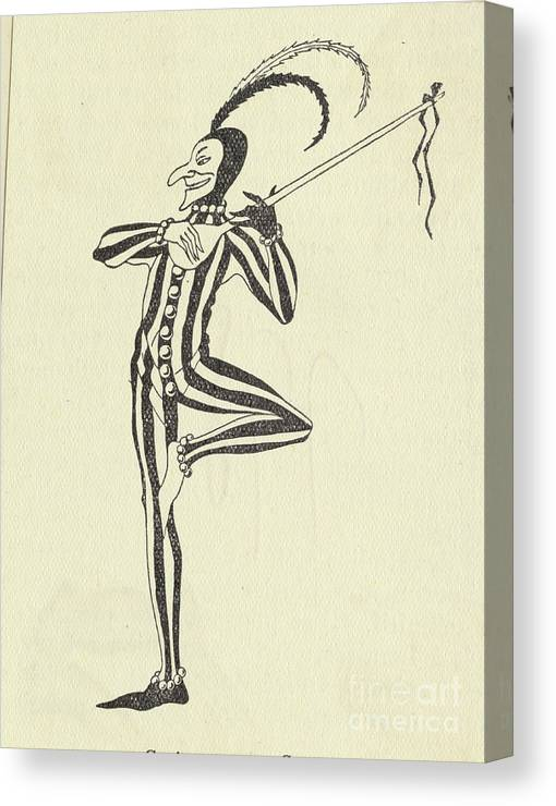 People Canvas Print featuring the photograph Illustration Of A Humorous Casanova by Bettmann