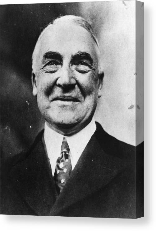 President Harding Canvas Print Canvas Art By Topical Press Agency Art on canvas is minted's finish option in which the art is printed on a premium cotton canvas material and stretched around a wood frame, also commonly known as. photos com by getty images