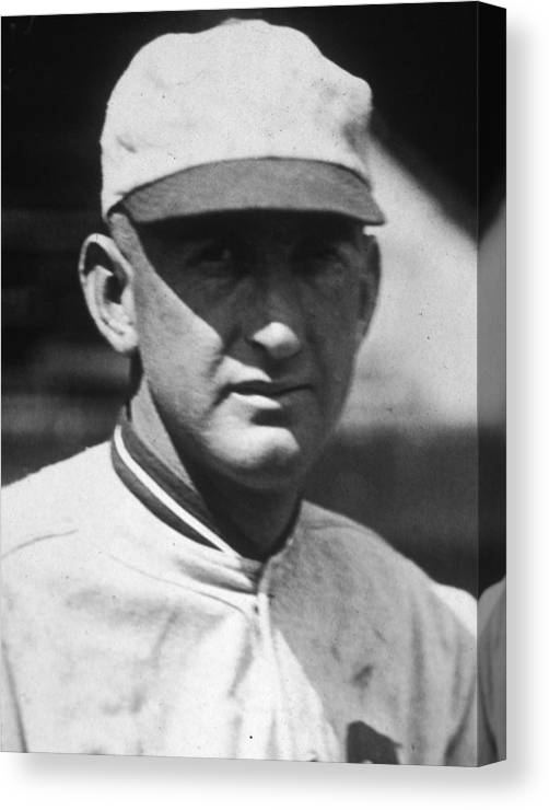 People Canvas Print featuring the photograph Shoeless Joe by Apa