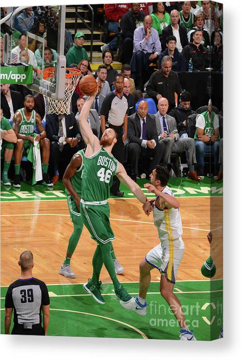 Nba Pro Basketball Canvas Print featuring the photograph Aron Baynes by Jesse D. Garrabrant