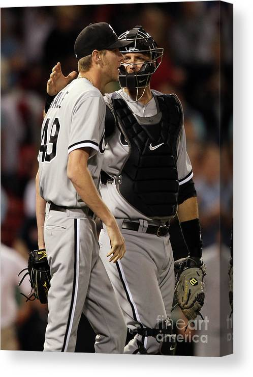 People Canvas Print featuring the photograph Chris Sale by Elsa