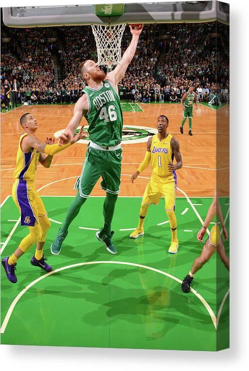 Nba Pro Basketball Canvas Print featuring the photograph Aron Baynes by Jesse D. Garrabrant