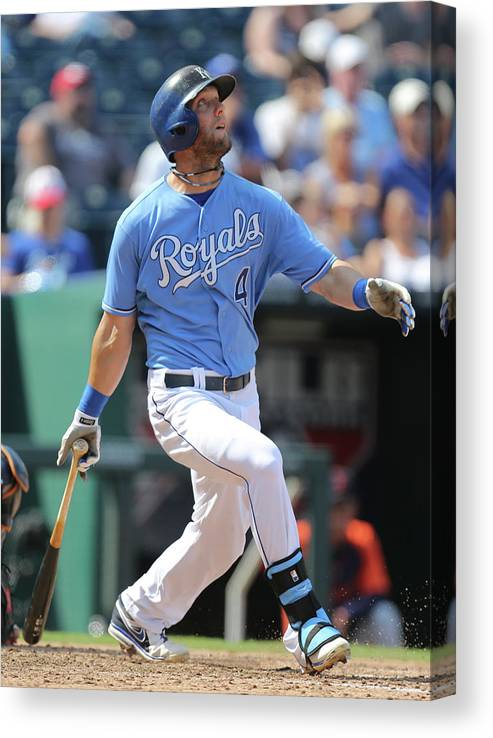 People Canvas Print featuring the photograph Alex Gordon by Ed Zurga