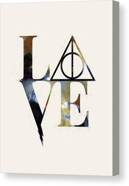 Harry Potter Love Always Watercolor by Ink Well