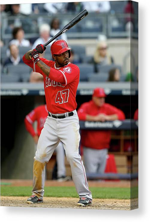 Ninth Inning Canvas Print featuring the photograph Howie Kendrick by Elsa