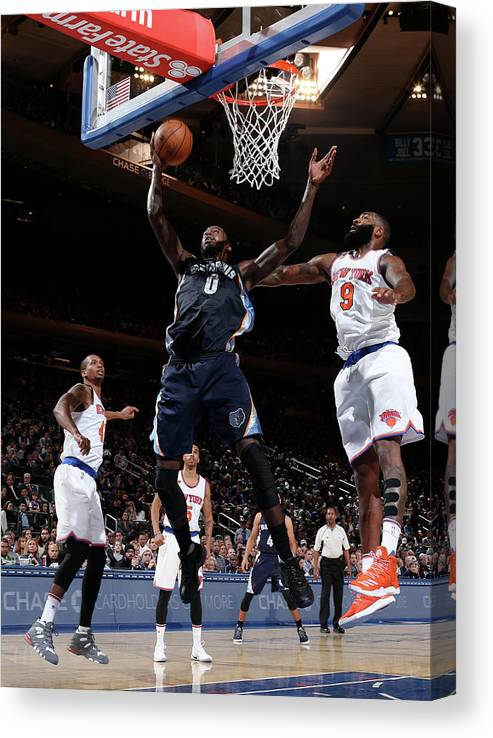 Nba Pro Basketball Canvas Print featuring the photograph Jamychal Green by Nathaniel S. Butler