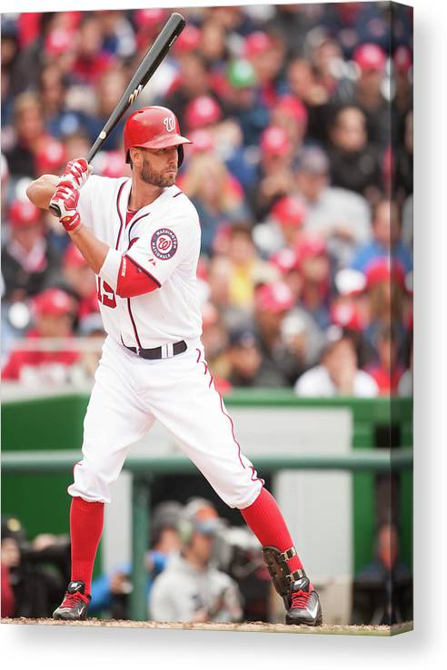 Kevin Frandsen Canvas Print featuring the photograph Kevin Frandsen by Mitchell Layton