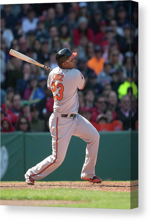 East Canvas Print featuring the photograph Nelson Cruz by Rob Tringali