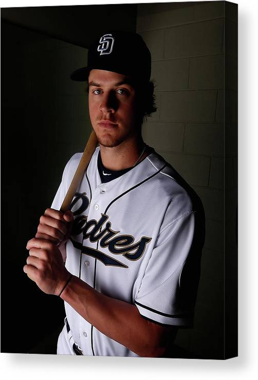 Media Day Canvas Print featuring the photograph Wil Myers by Christian Petersen