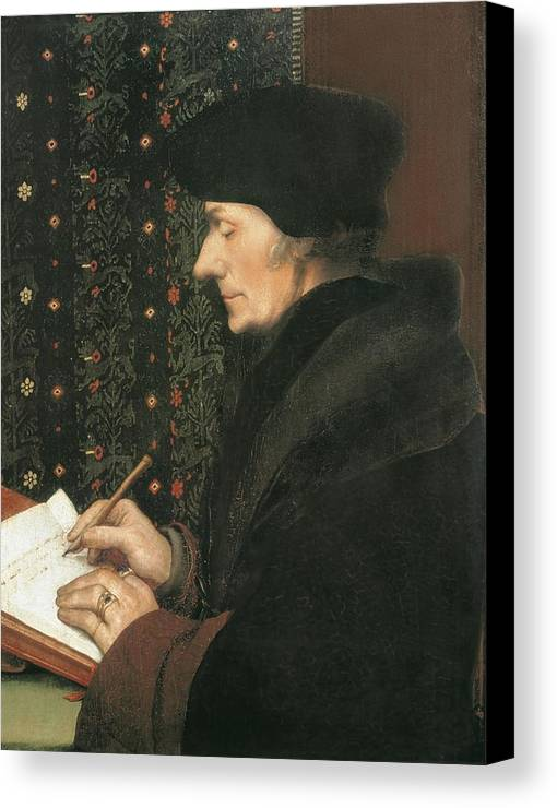 Vertical Canvas Print featuring the photograph Holbein, Hans, The Younger 1497-1547 by Everett