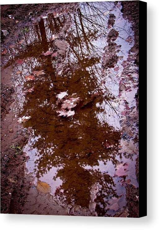 Gorham Canvas Print featuring the photograph Peaceful Reflections by Brian Gibson