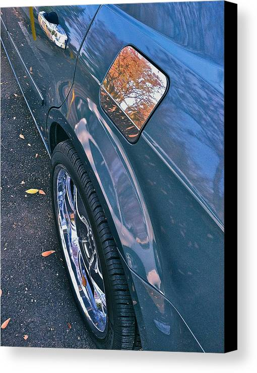 Car Photographs Canvas Print featuring the photograph Chrome Tree by Bill Owen