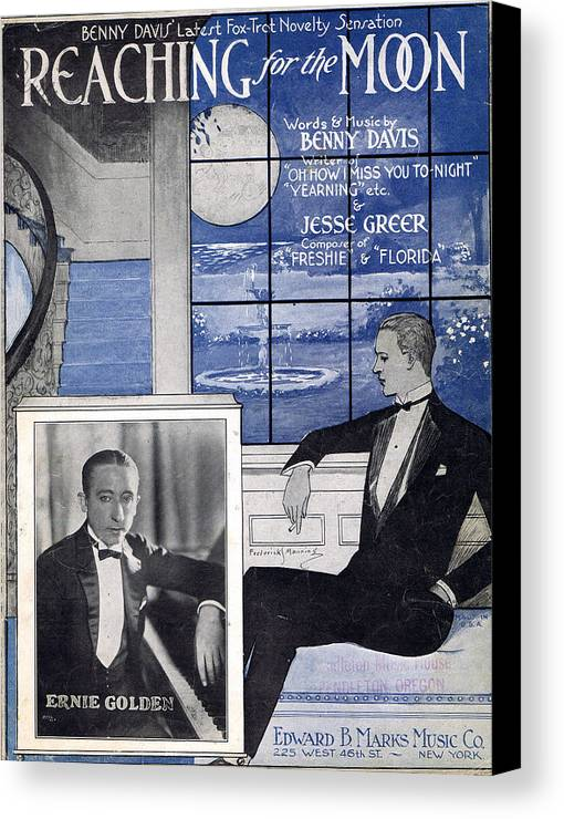 Classic Canvas Print featuring the photograph Reaching For The Moon by Mel Thompson
