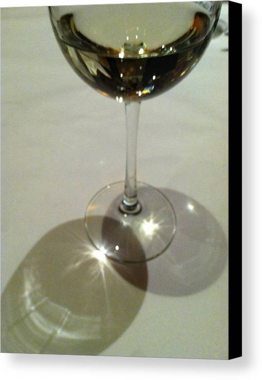 White Wine Canvas Print featuring the photograph Sweetest Day by Anna Villarreal Garbis
