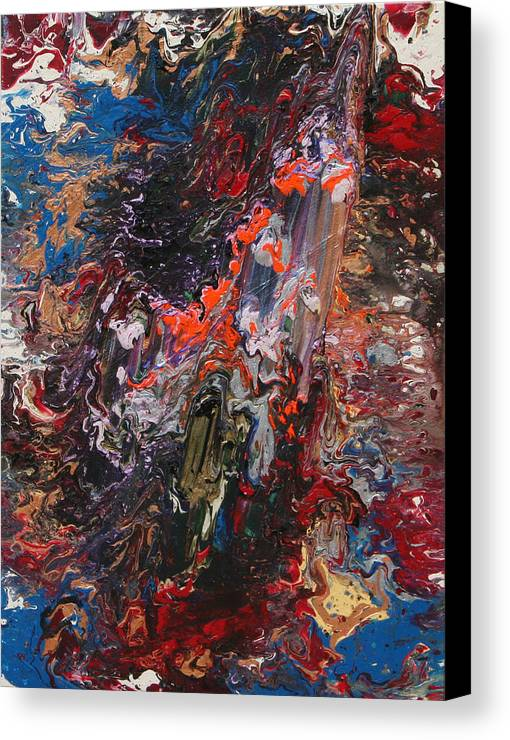 Fusionart Canvas Print featuring the painting Angel Rising by Ralph White