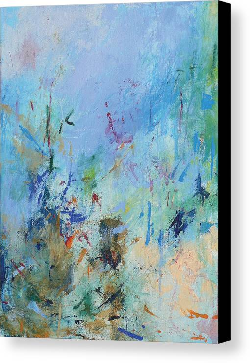 Copland Canvas Print featuring the painting Appalachian Spring by Jacquie Gouveia
