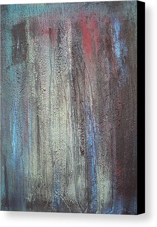 Paintings Canvas Print featuring the painting Black No 2 Sold by Elizabeth Klecker