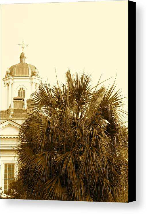 South Carolina Canvas Print featuring the photograph Charleston City Life by Staci-Jill Burnley
