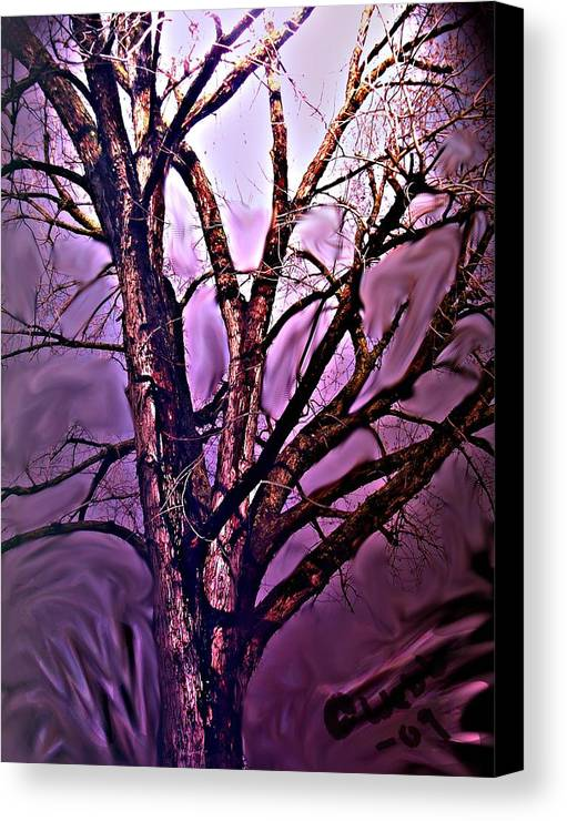 Woods Canvas Print featuring the digital art Everlasting 2 by Crystal Webb